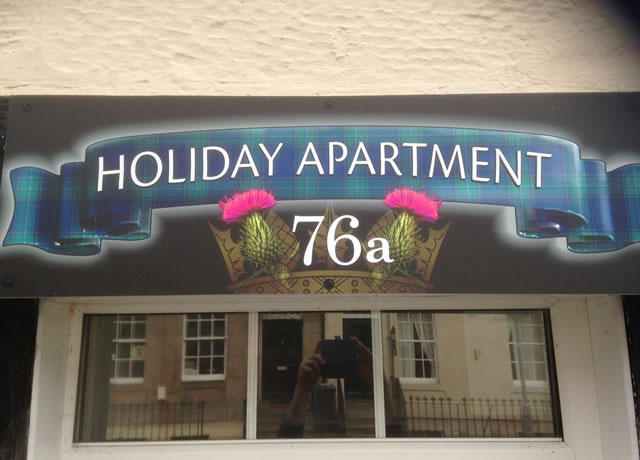 Holiday Apartment 76a, Coldstream High Street